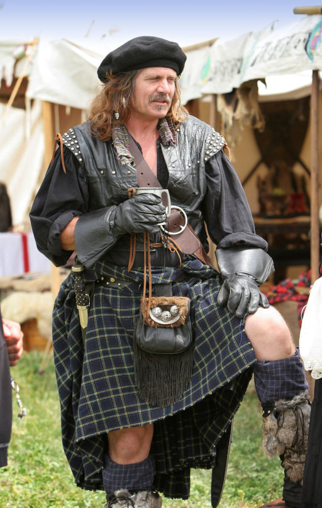 Scottish Highlander Kilt Costume