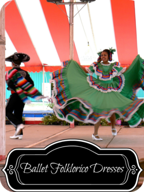 Beautiful Mexican Ballet Folklorico Dresses For Any Celebration