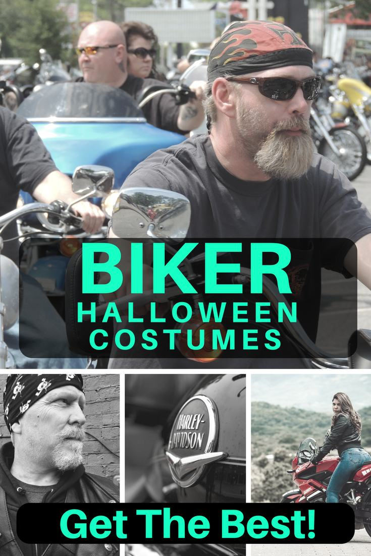 the hottest biker halloween costumes for you and your crew