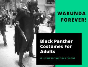 Black Panther Costumes Adults