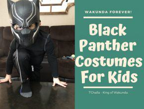 Black Panther Costumes Kids