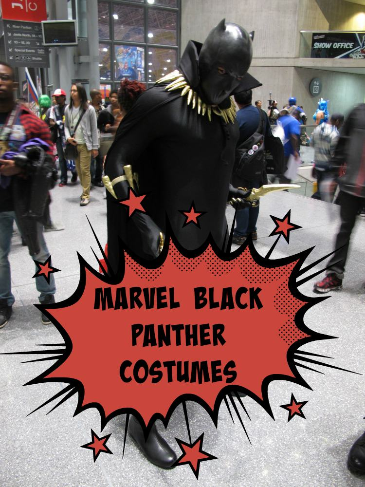 Marvel Black Panther Costume