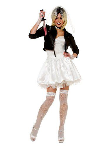 Bride Of Chucky Halloween Costumes for Adults