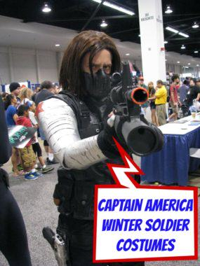 Captain America Winter Soldier Halloween Costume