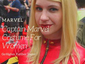 Captain Marvel Costume Women