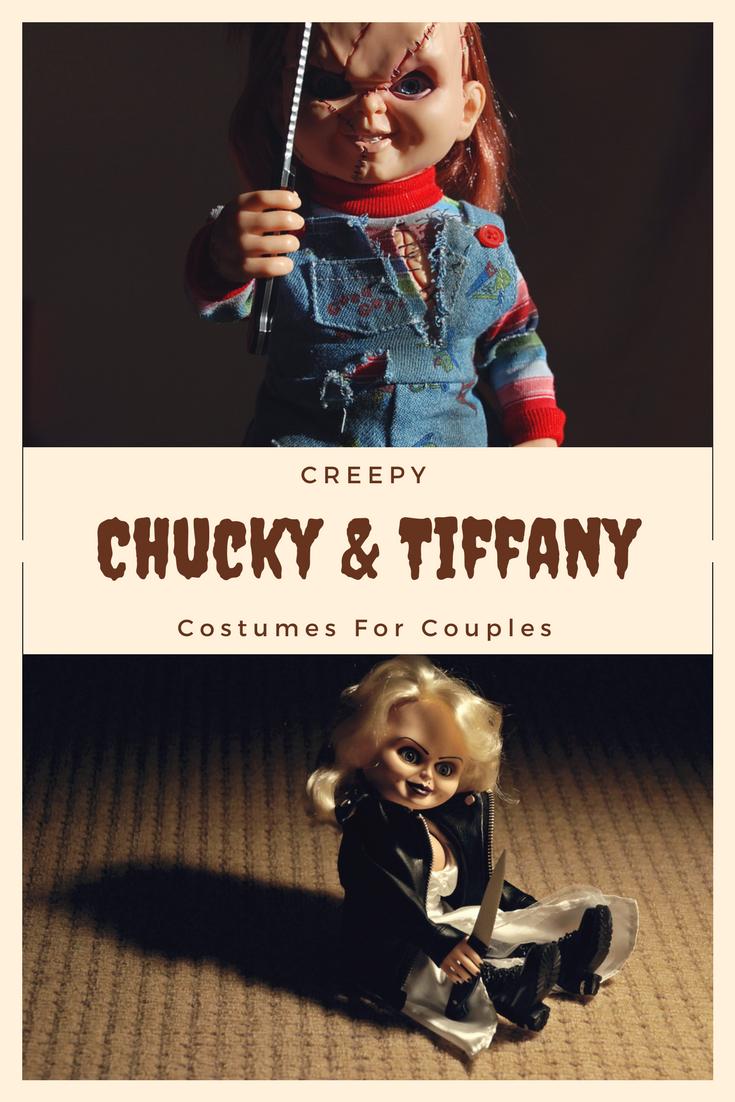 Chucky and Tiffany Halloween costumes