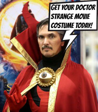 Doctor Strange Movie Costume