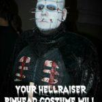 Your Hellraiser Pinhead Costume Will Be The Fright Of The Party