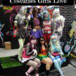 Monster High Halloween Costumes Girls Love