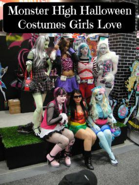 Monster High Halloween Costumes Girls Love
