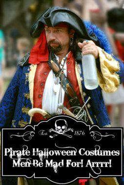Pirate Halloween Costumes Men