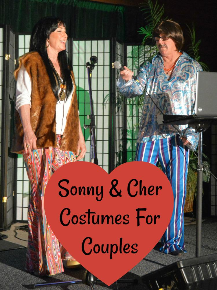 Sonny & Cher Costumes For Couples
