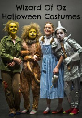 Wizard Of Oz Halloween Costumes