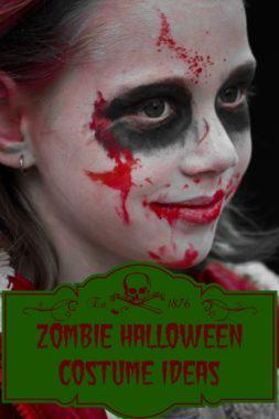 Zombie Halloween Costume Ideas