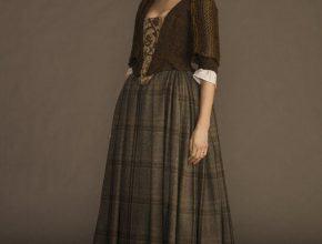 Outlander Claire Fraser Scottish Costumes For Women