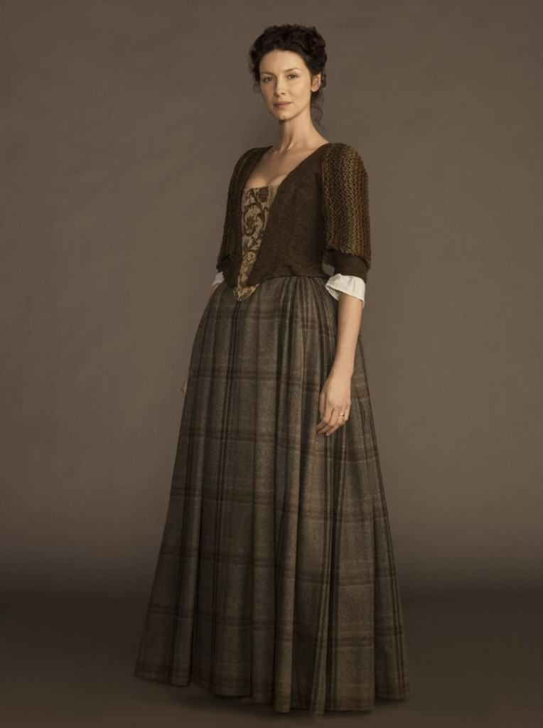 Outlander Claire Fraser Scottish Costumes For Women