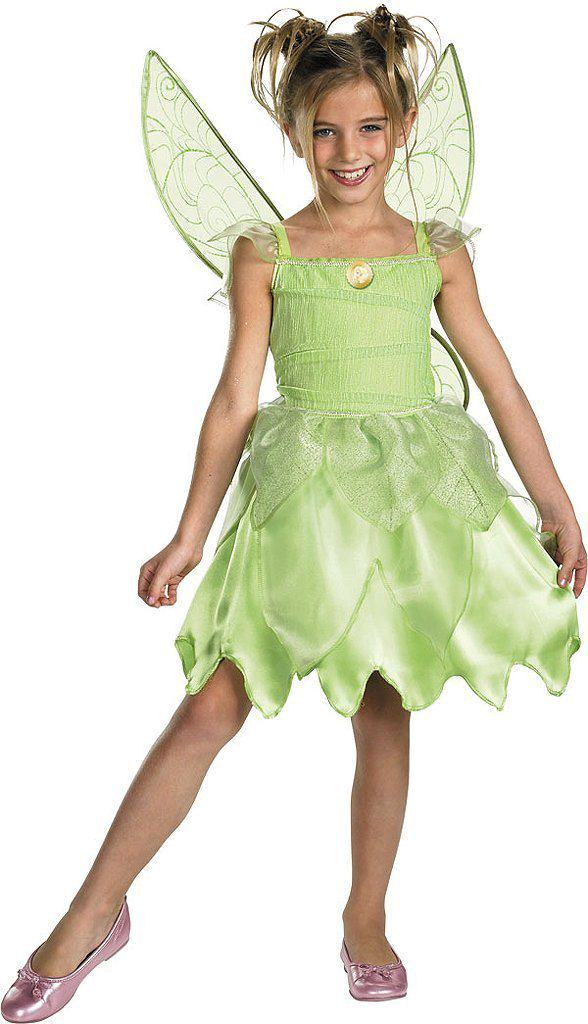 Disney Tinkerbell Halloween Costumes For Girls