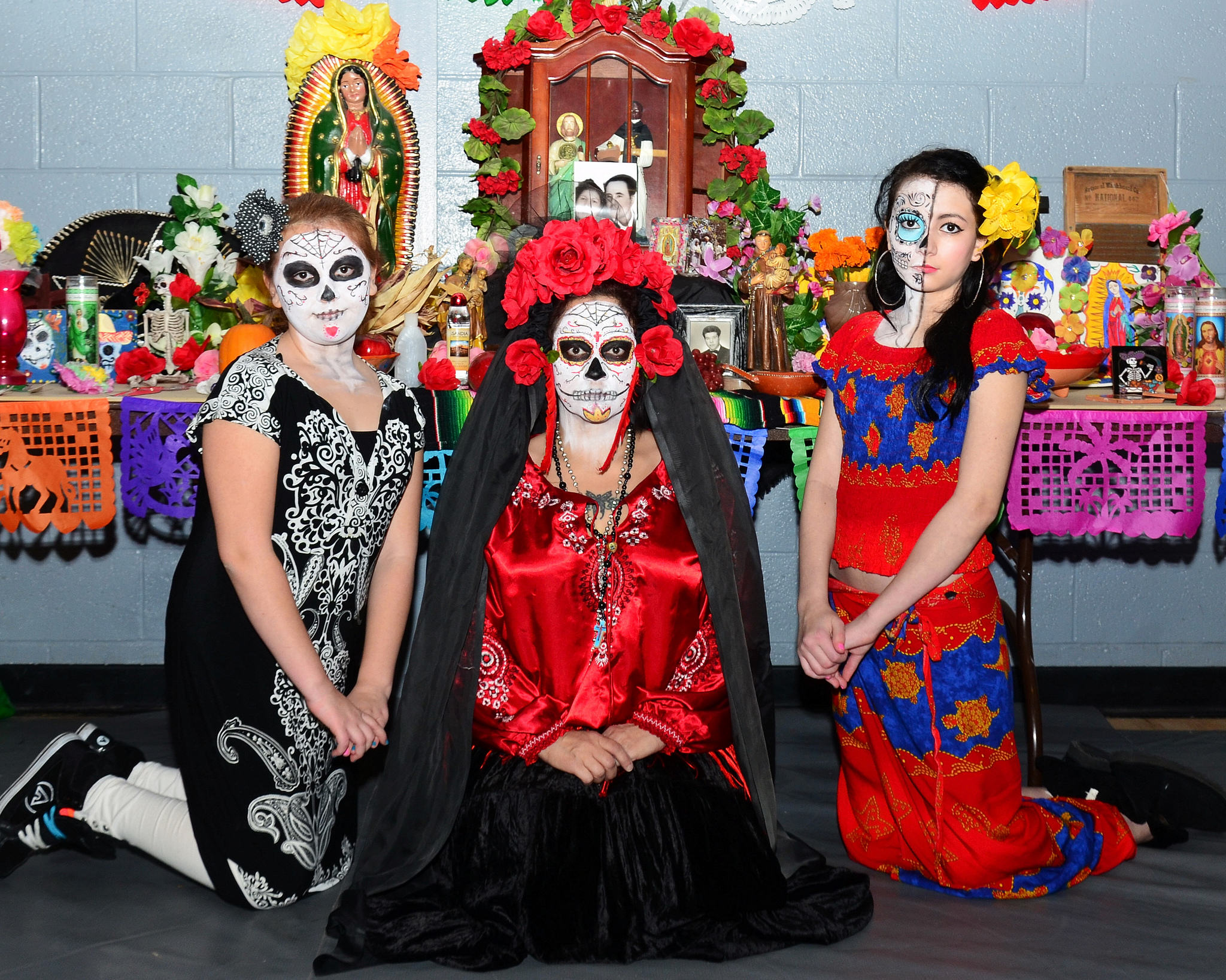 day of the dead costumes for dia de los muertos celebrations