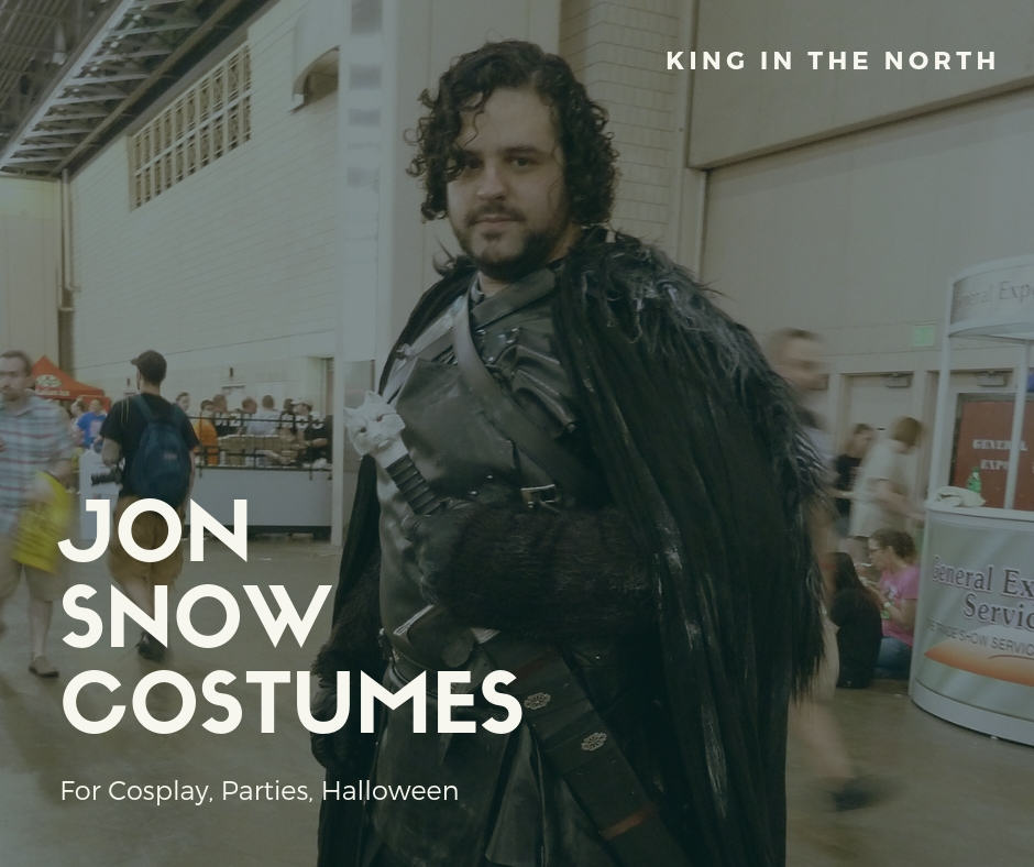 Game of Thrones 7 Cosplay Jon Snow Costume Props Halloween Accessories Outfit